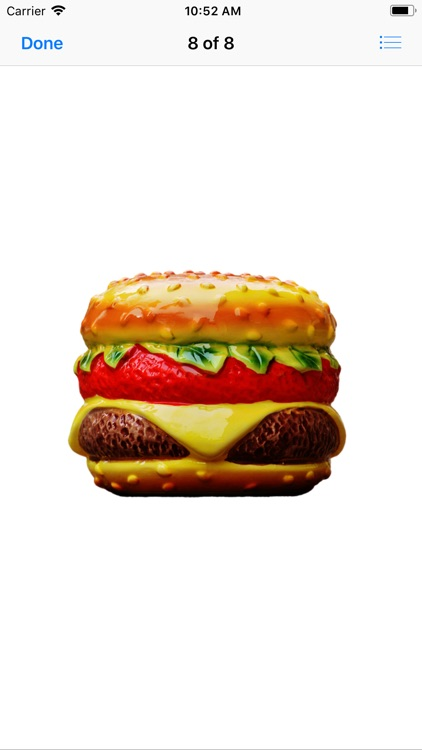 Heavenly Hamburger Stickers screenshot-2