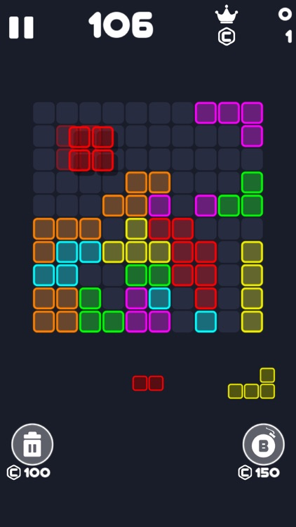 Neon Block Puzzle : Fill Board screenshot-8