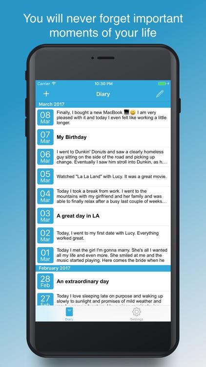 Secure Diary App