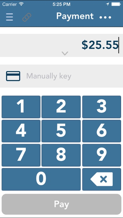 Gravity Payments mPOS Screenshot on iOS