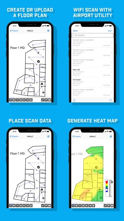 WiFi Survey screenshot-0