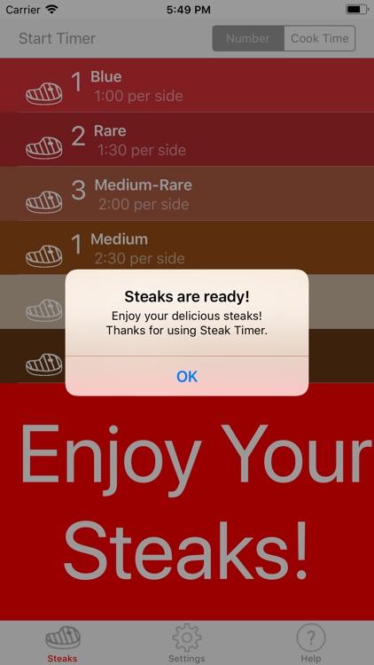 Steak Timer Pro screenshot-4