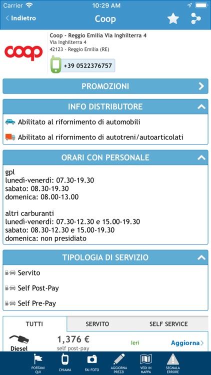 Prezzi Benzina - GPL e Metano screenshot-3