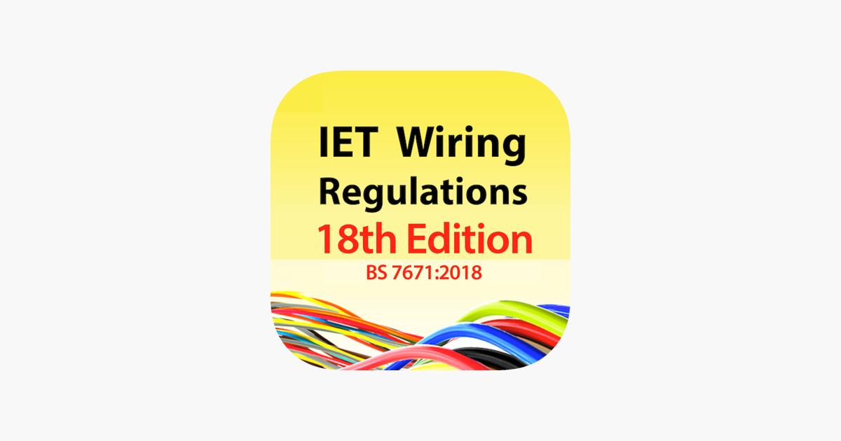 Remarkable Iet Wiring Regulations 18Th Ed In De App Store Wiring Digital Resources Funapmognl