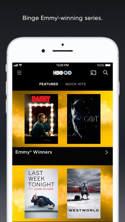 HBO GO: Stream with TV Package screenshot-3