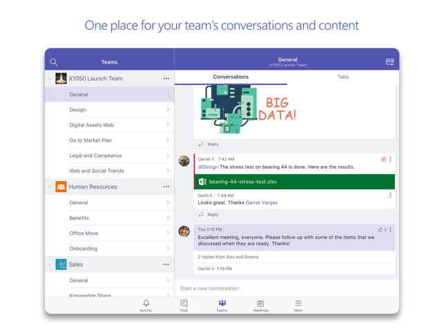 Microsoft Teams Screenshot