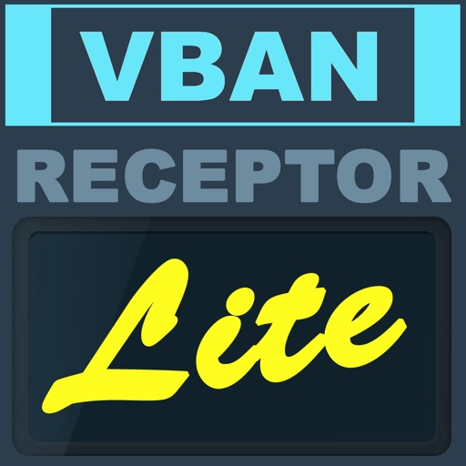 VBAN Receptor Lite iOS App