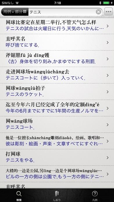 中日・日中辞典 ScreenShot3