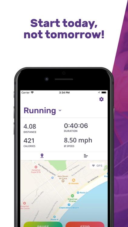 Running GPS Walking My FIT APP
