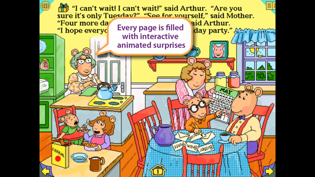 ‎Arthur's Birthday Screenshot