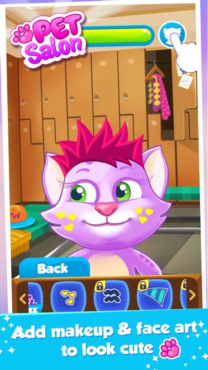 Pet Salon: Cat Dress Up Game screenshot-3