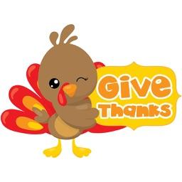 Thanksgiving Sticker Set