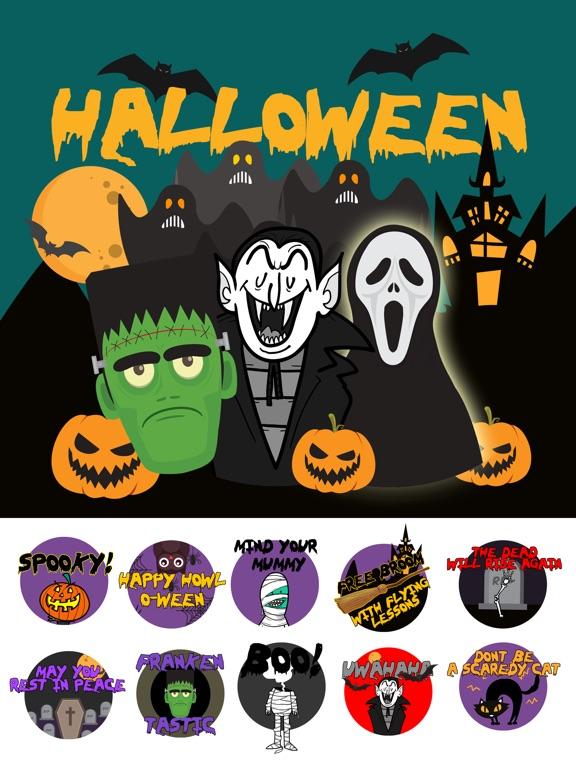Scary HalloweenMoji Stickers screenshot 4