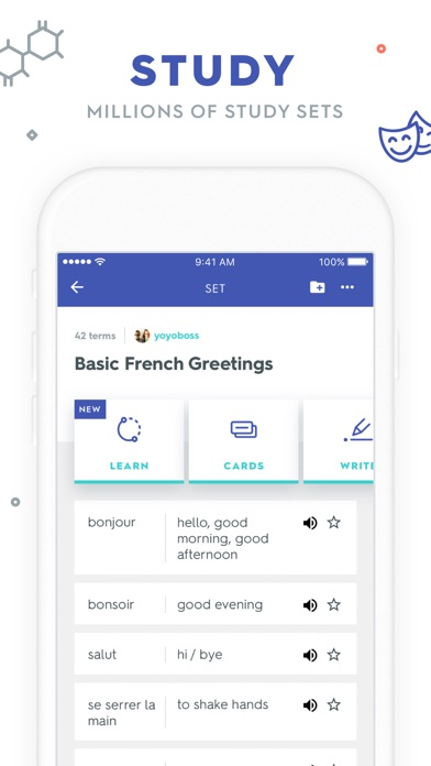 Quizlet Flashcards Screenshot