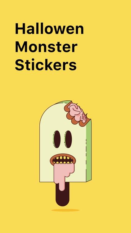 Halloween Monsters Stickers +