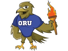 ORU Eagle sticker pack emoticons - emoticons for prayer, happy, Happy Birthday, sleeping, basketball playing, laughing, and many others
