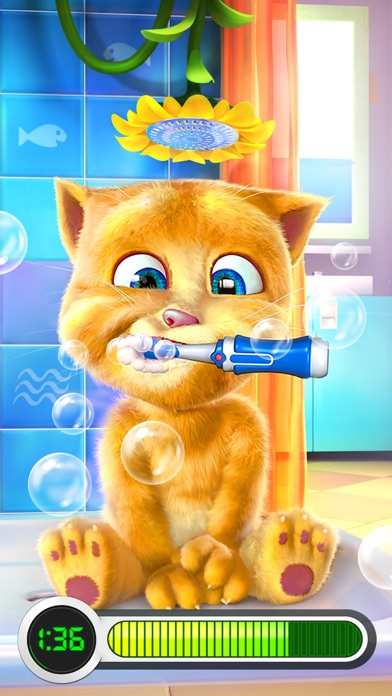 おしゃべり猫のトーキング・ジンジャースクリーンショット1