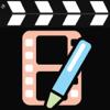 الكتابة على الفيديو