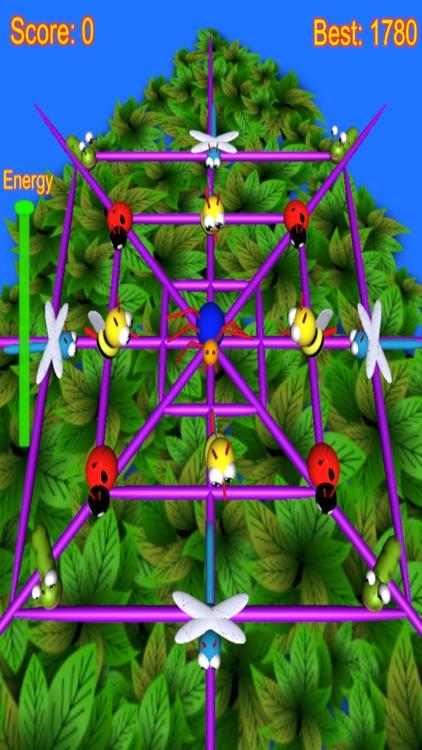 Spider Attack arcade game