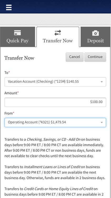 First Tennessee Mobile Banking screenshot-4