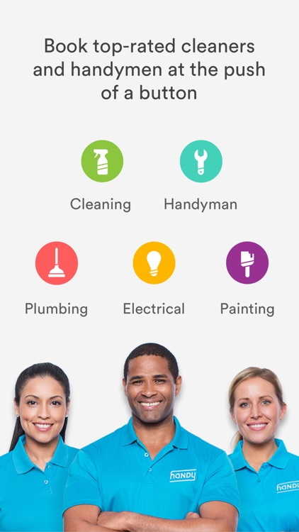 Handy - Book top-rated home cleaners & handymen