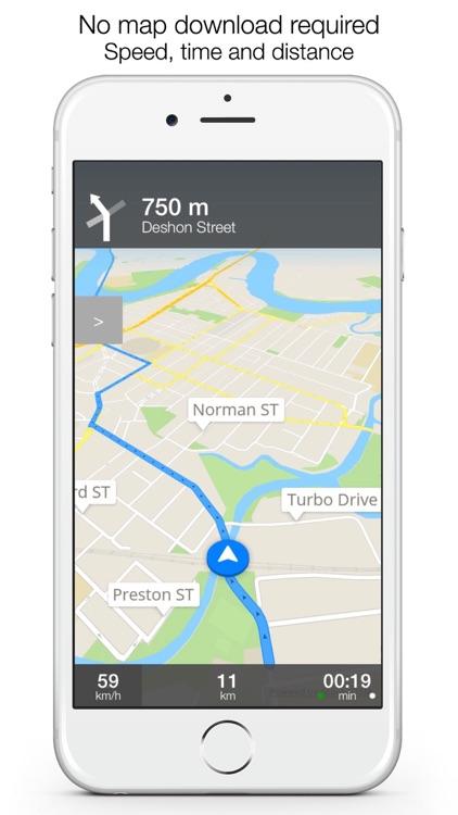 AU Offline Maps and Navigation