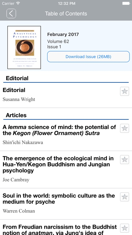 Jrnl of Analytical Psychology screenshot-4