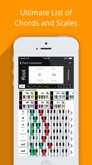 Piano Companion Pro Chords On The App Store