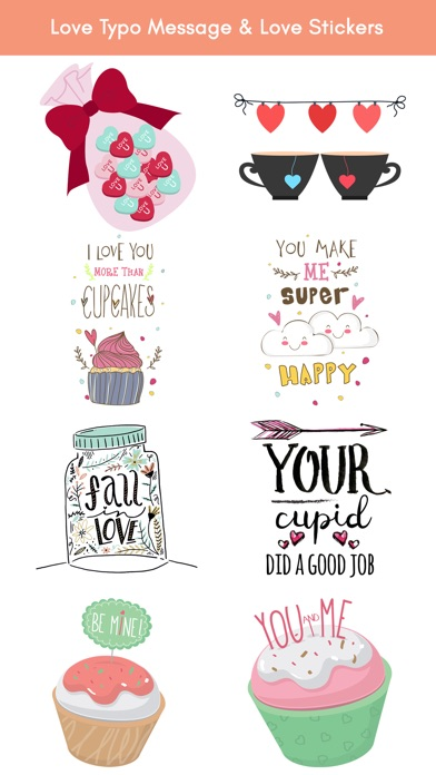 Happy Love Stickers - Animated screenshot 5