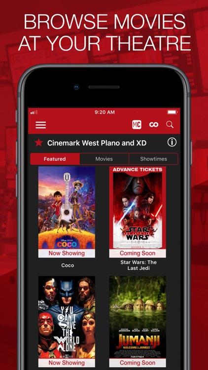 Cinemark Theatres screenshot-4