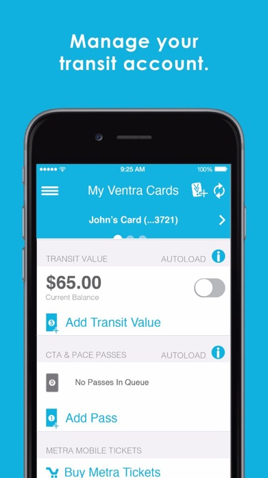 Ventra Screenshot