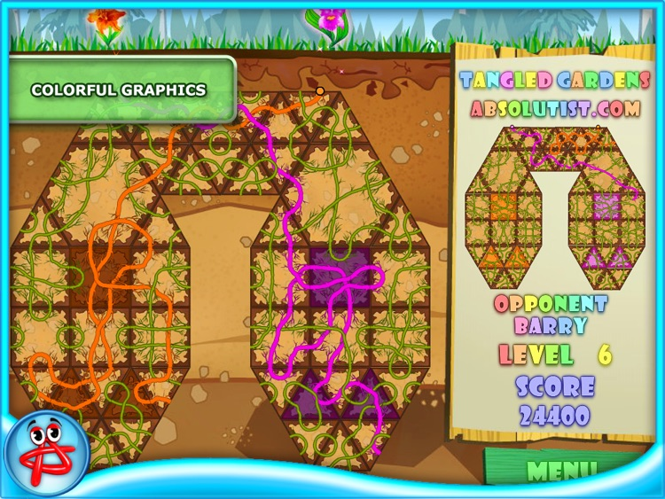 Tangled Gardens: Pipes Puzzle screenshot-3