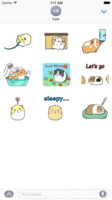 Animated Small Hamster Sticker screenshot 2