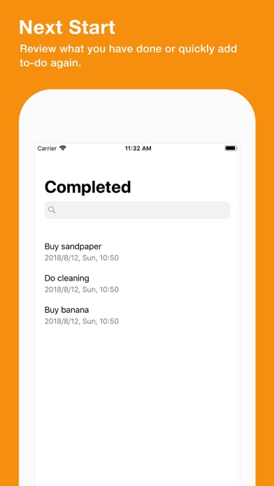 Screenshot of Tododay: Reminders,Tasks,List App
