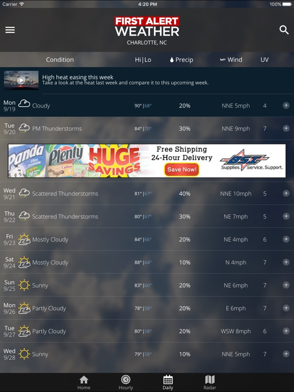 WBTV First Alert Weather - Online Game Hack and Cheat