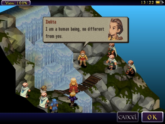 FINAL FANTASY TACTICS: THE WAR OF THE LIONS (iPad) Screenshot