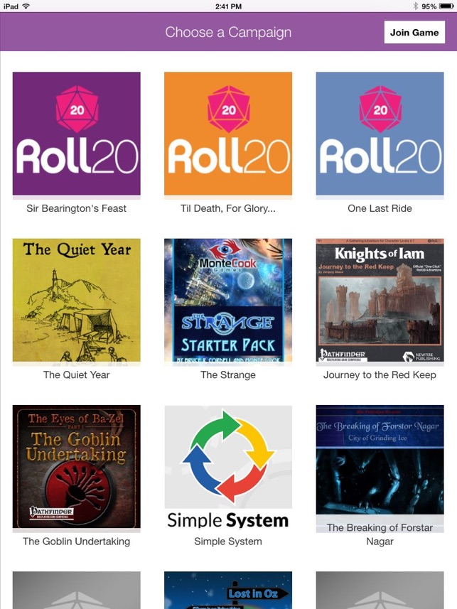 Roll20 for iPad on the App Store