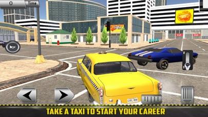 Taxi Customer: Driving SIM screenshot 2