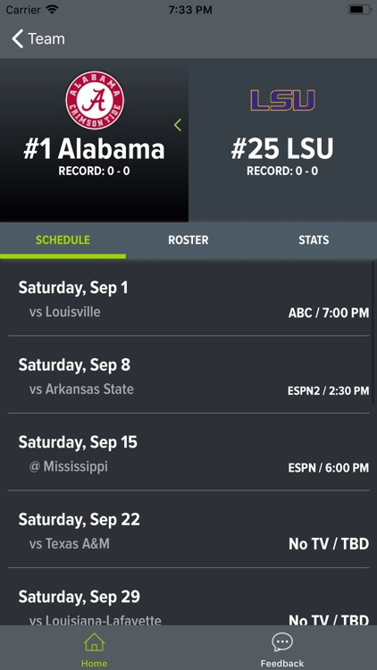 Alabama Football 2018 screenshot-6
