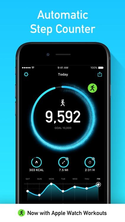StepsApp Pedometer screenshot-7