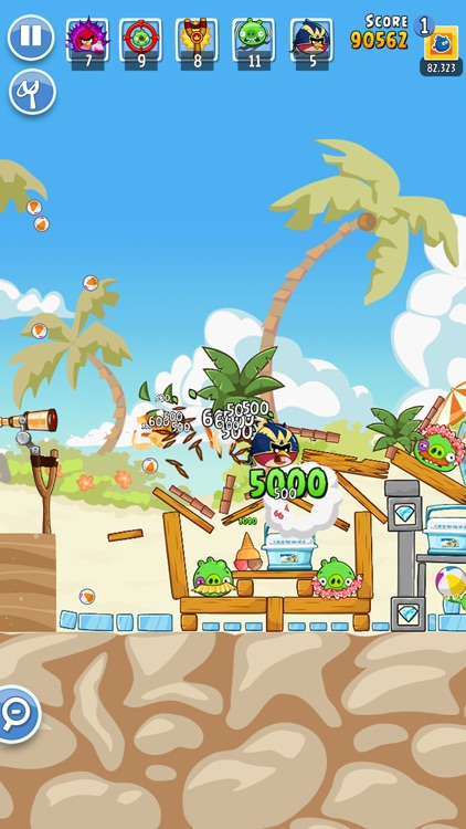 Angry Birds Friends screenshot-5