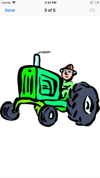 Tractor Stickers screenshot-6