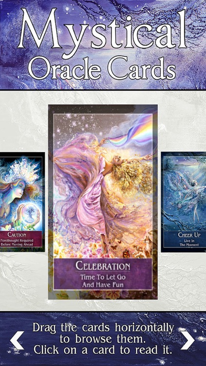 Mystical Oracle Cards screenshot-3