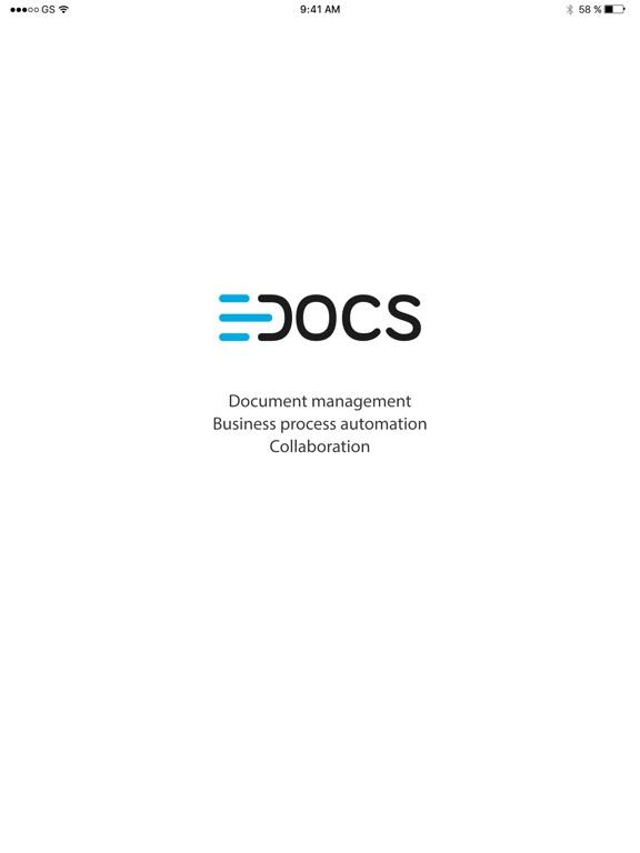 e-Docs screenshot #1