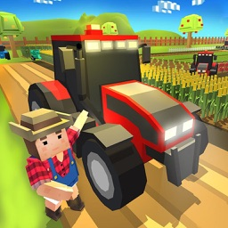 Tractor Farm Craft Blocky