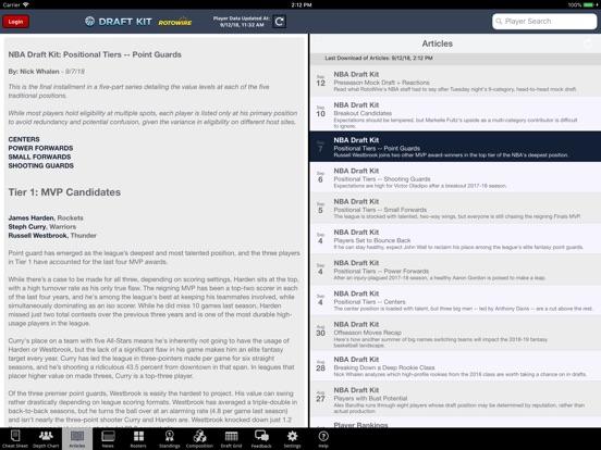 Fantasy Basketball Draft '18 screenshot 6