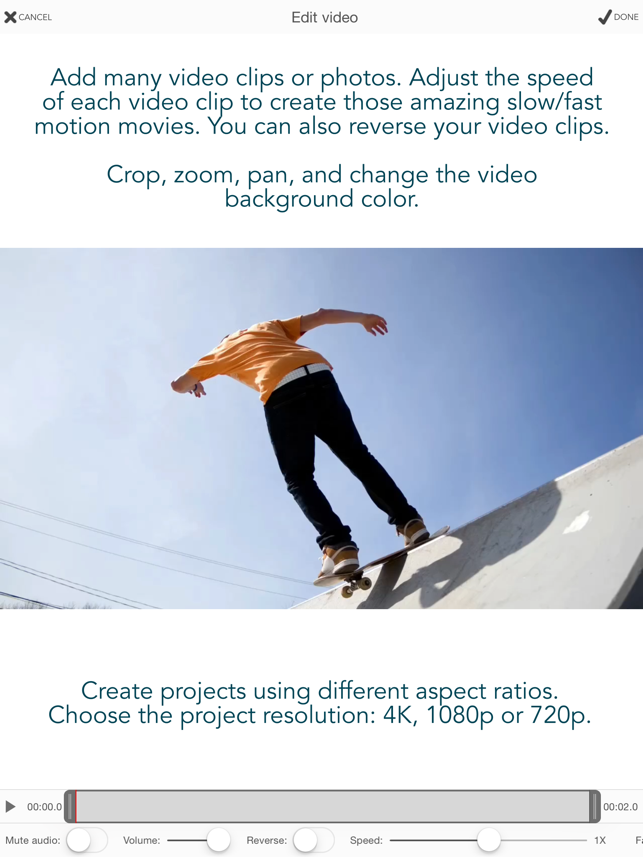 Videocraft - Video Editor 4K Screenshot