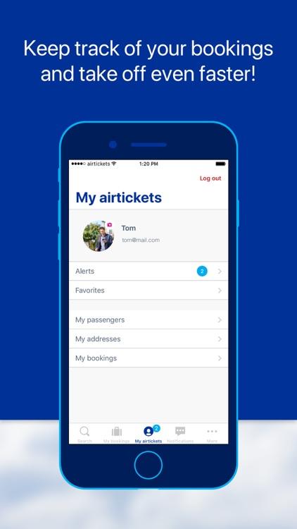 airtickets - A world to share screenshot-3
