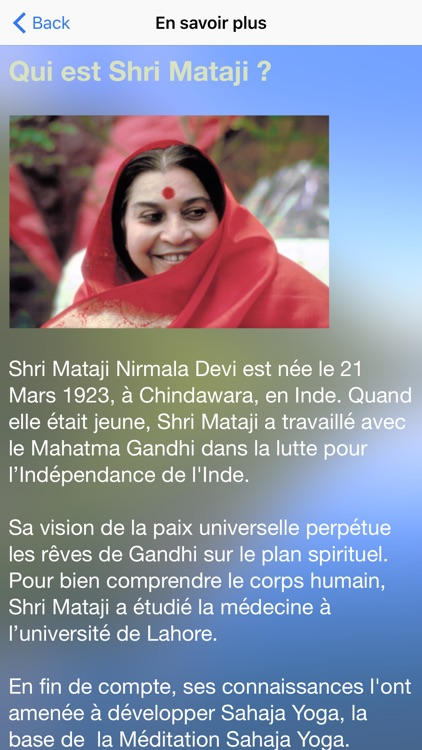 SahajaYoga-Meditation-français screenshot-4