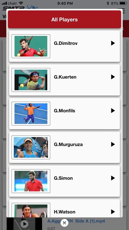 Slow Motion Tennis Pros screenshot-4